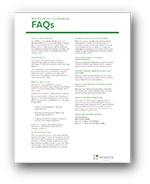 VG FAQ Reference Sheet